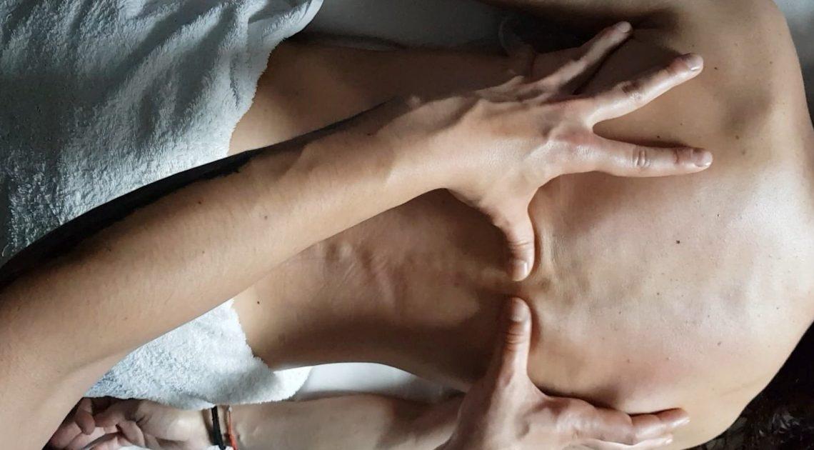 Масаж гръб