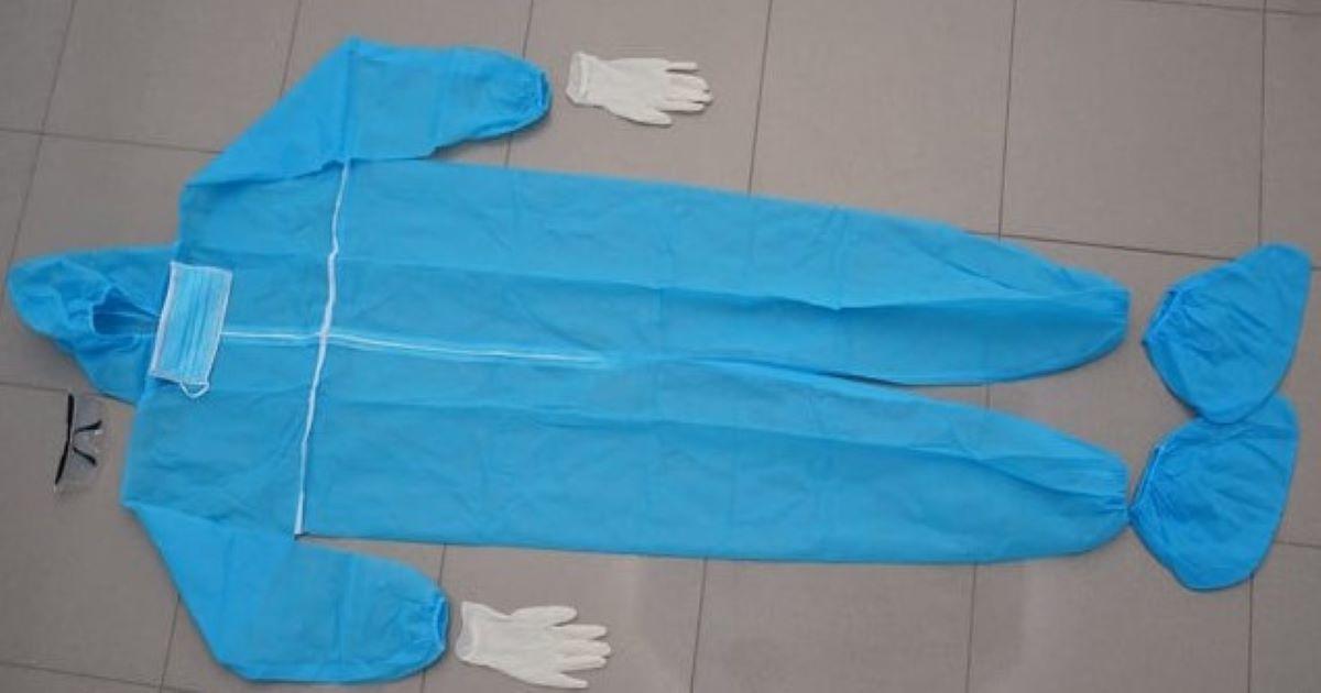 Комплект защитно облекло