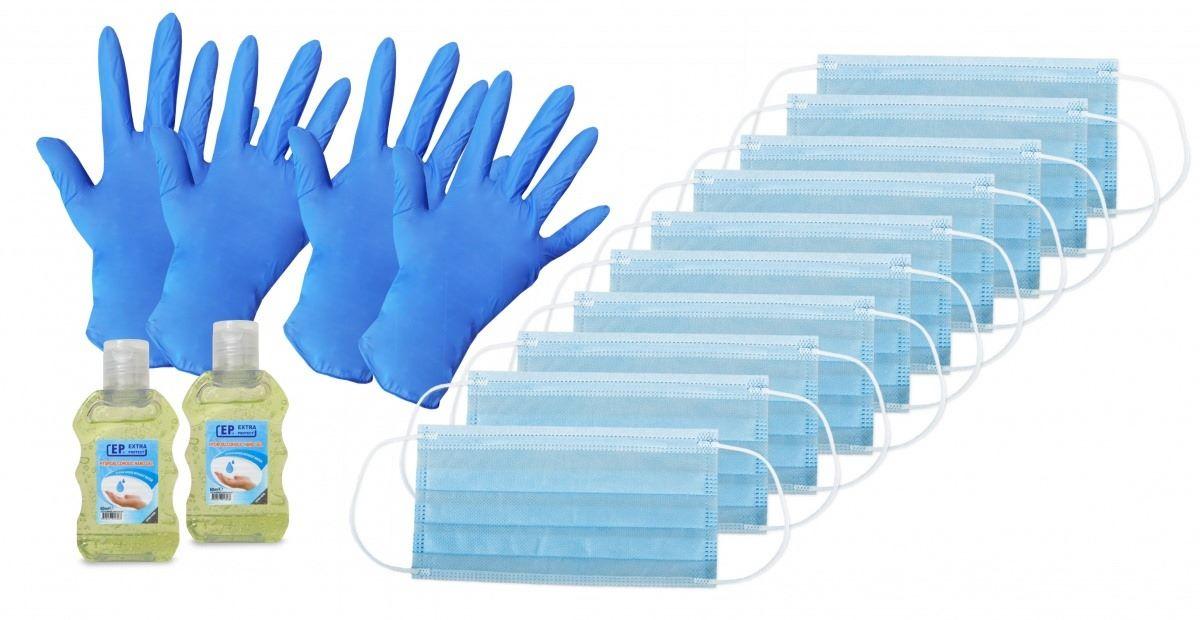 Маски, ръкавици, гел за ръце